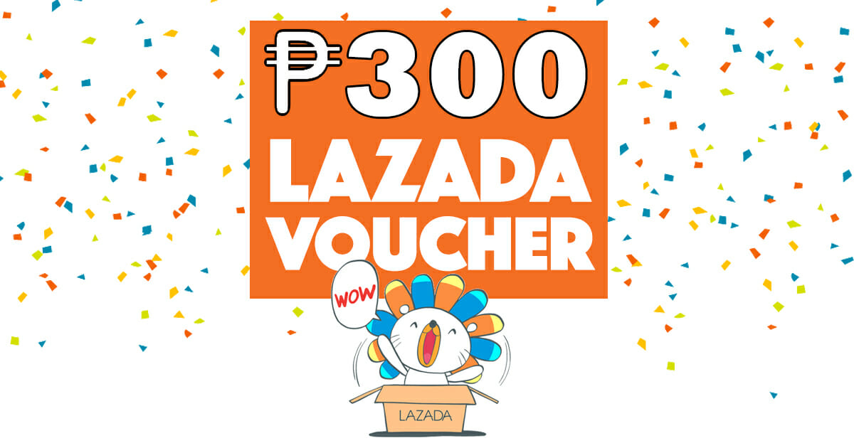 Get 20% or ₱300 OFF on Lazada Voucher Code! - Paymaya