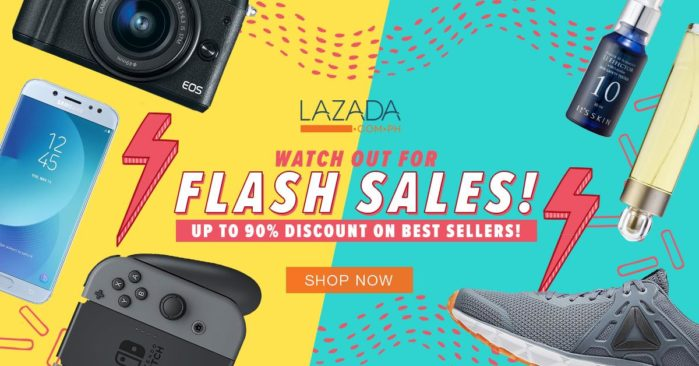 lazada flash sales