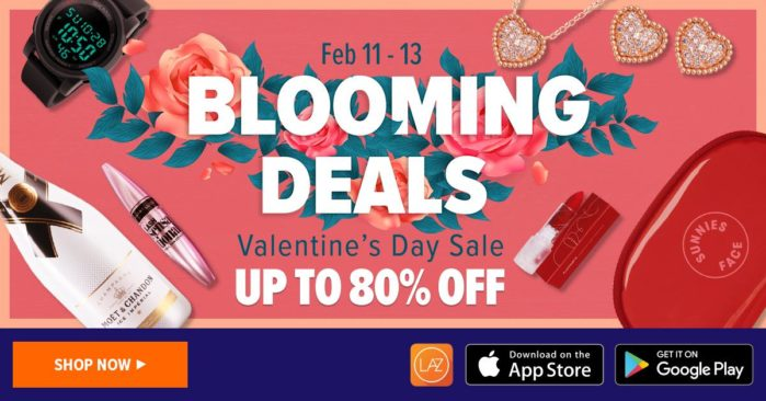 Lazada Blooming Deals